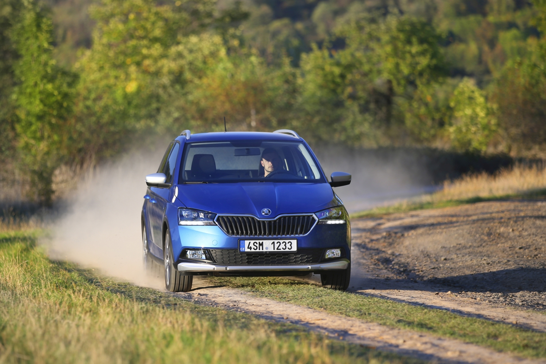 Za avanturiste: Škoda Fabia Combi Scoutline