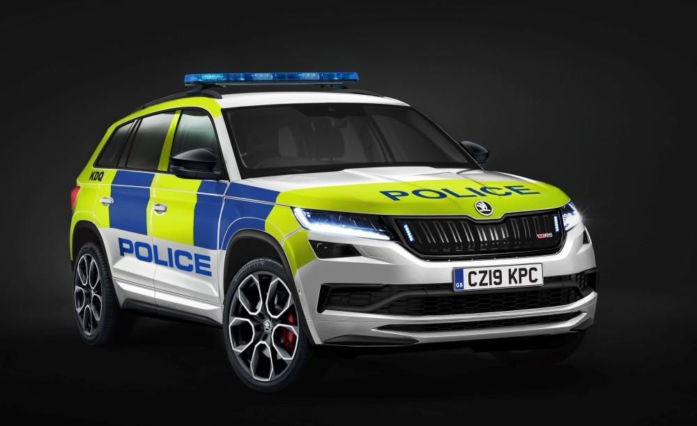 Policijska Škoda Kodiaq vRS