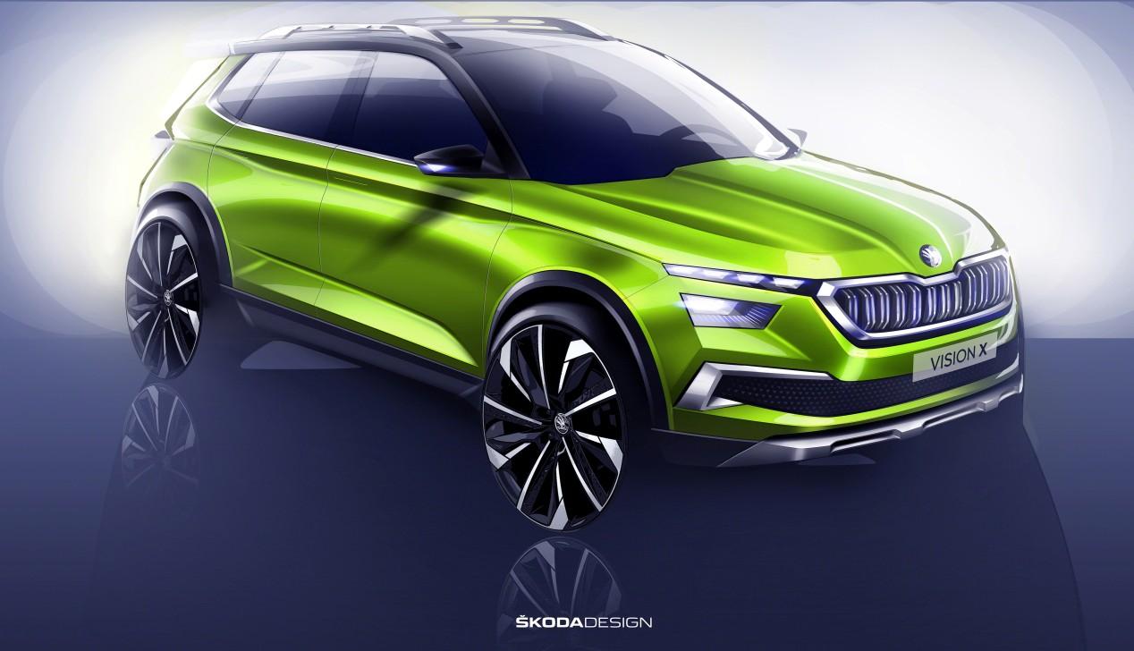 Ženevski auto salon: Škoda Vision X