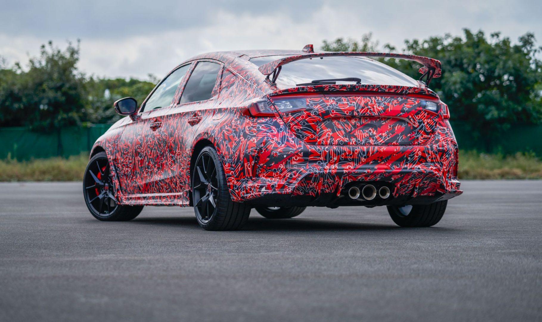 Nova generacija Honde Civic Type R stiže 2022. godine