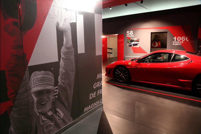 U Ferrari muzeju izložba za 50. rođendan Michaela Schumachera