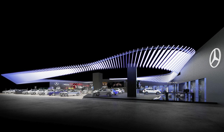 Mercedes-Benz automobili na salonu Auto Shanghai 2019