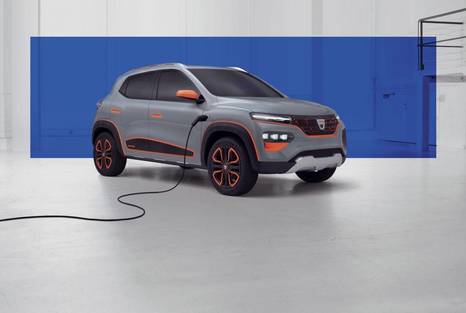Dacia Spring koncept najavljuje prvi Dacijin potpuno električni automobil