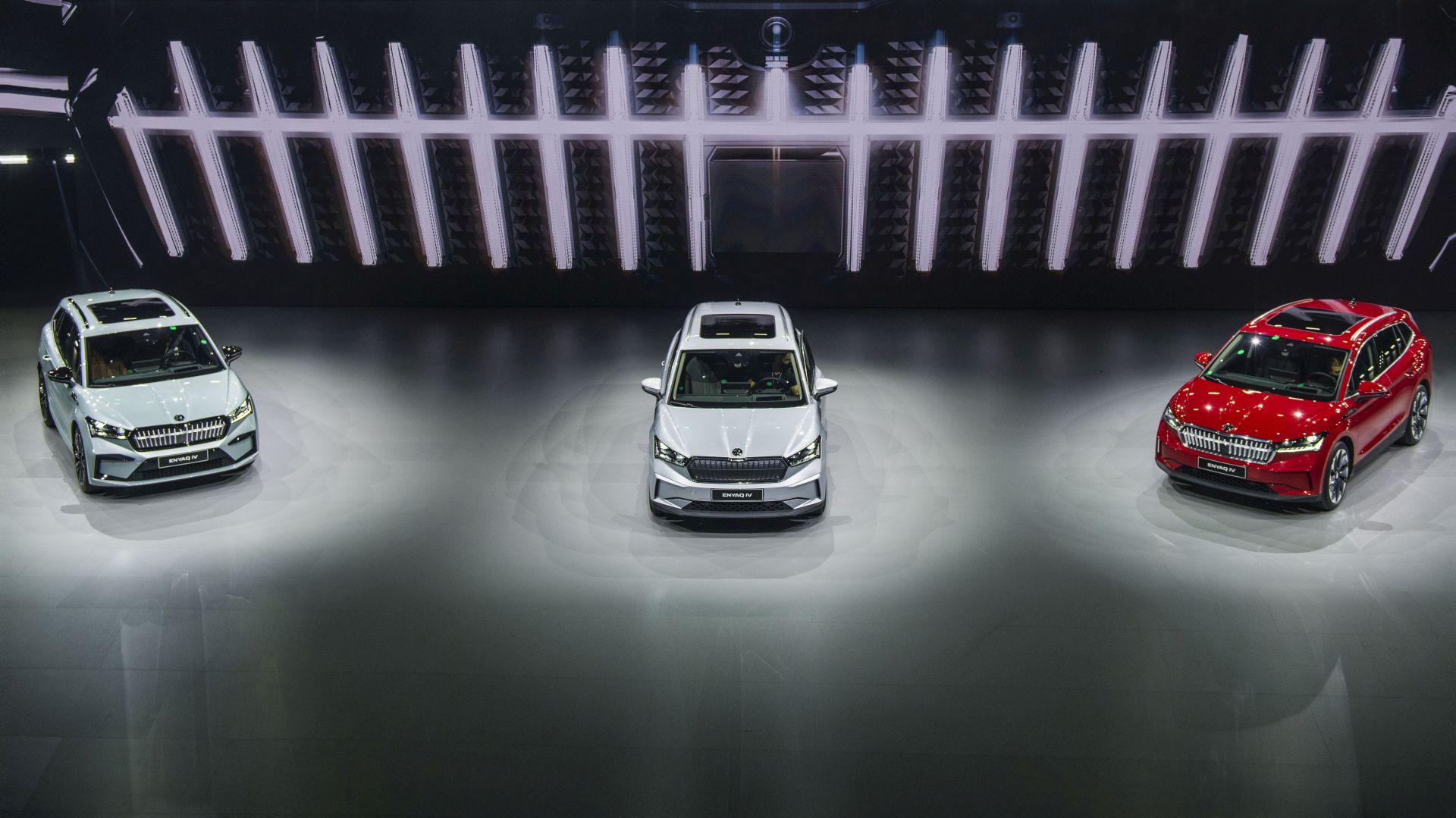 Do 510 km dosega za novi električni SUV Škoda Enyaq iV