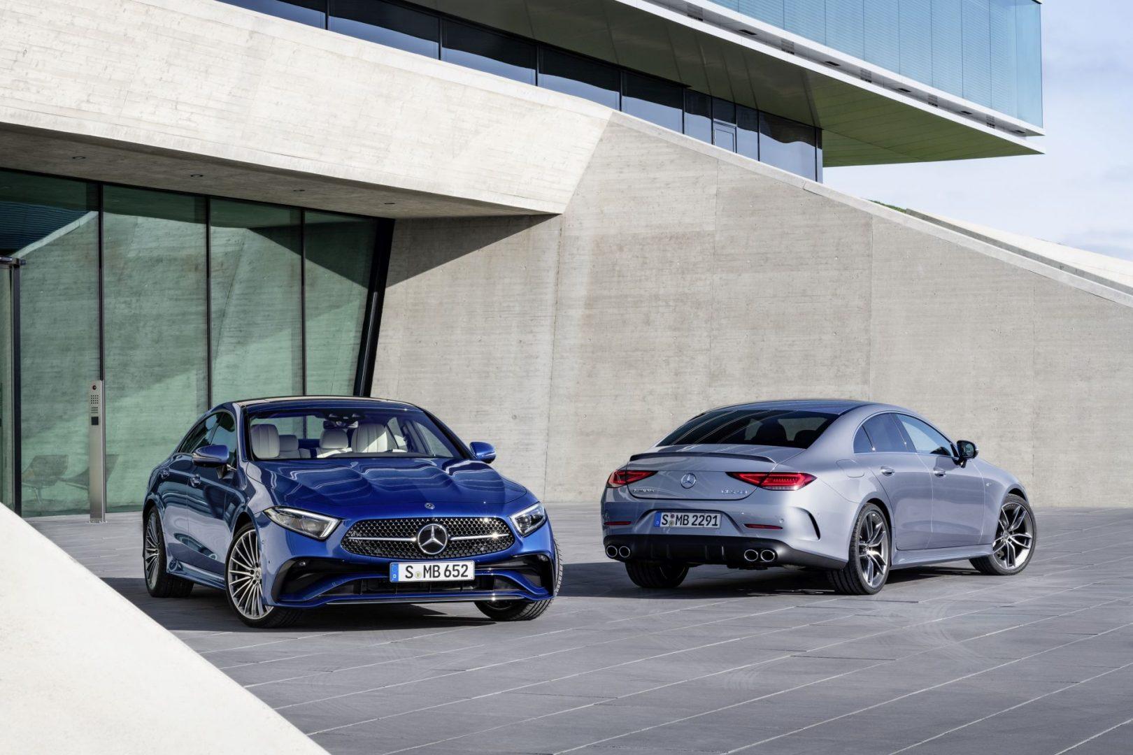 2021 Mercedes-Benz CLS i 2021 Mercedes-AMG CLS 53