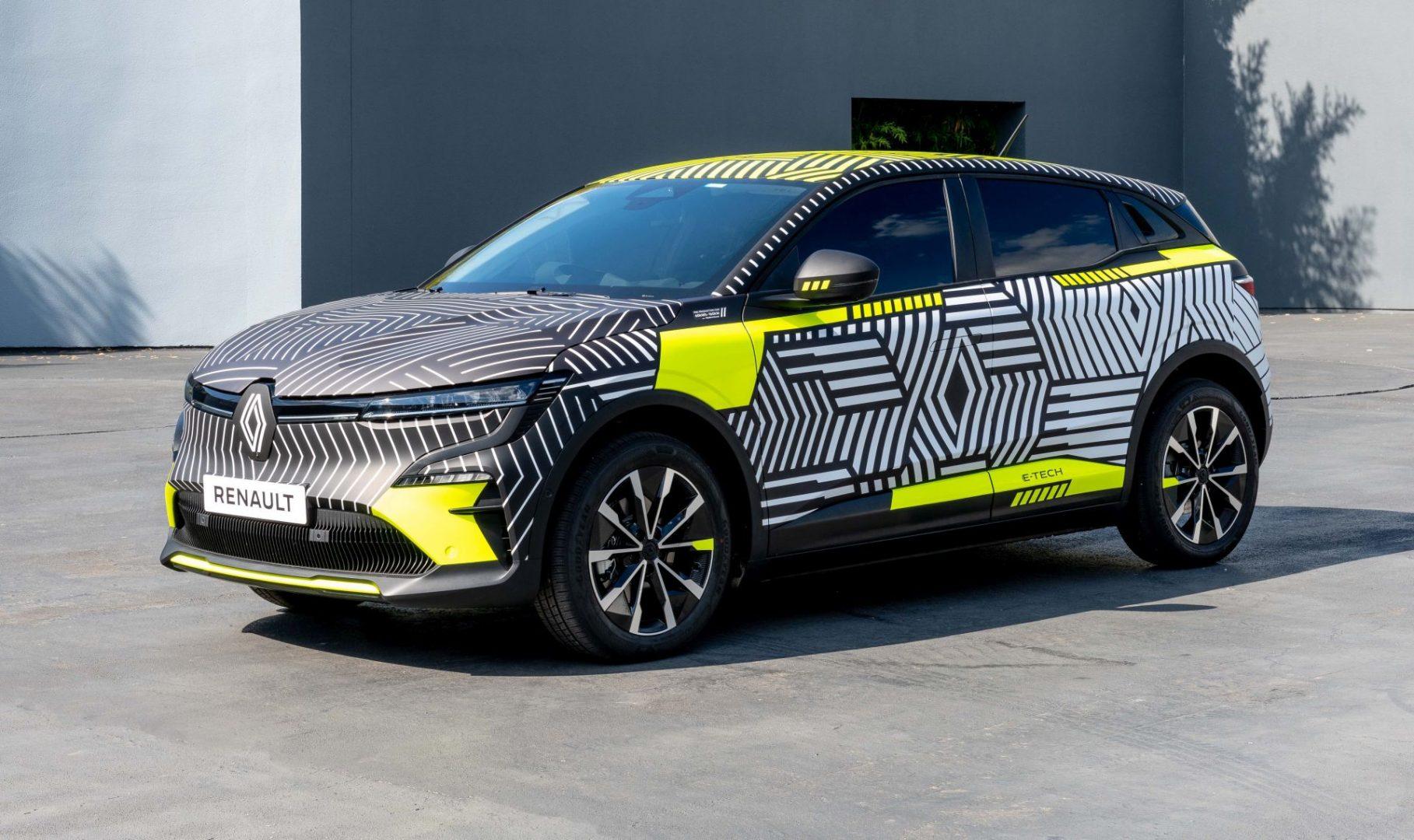 Za manje od godinu dana stiže električni Renault Megane E-Tech Electric