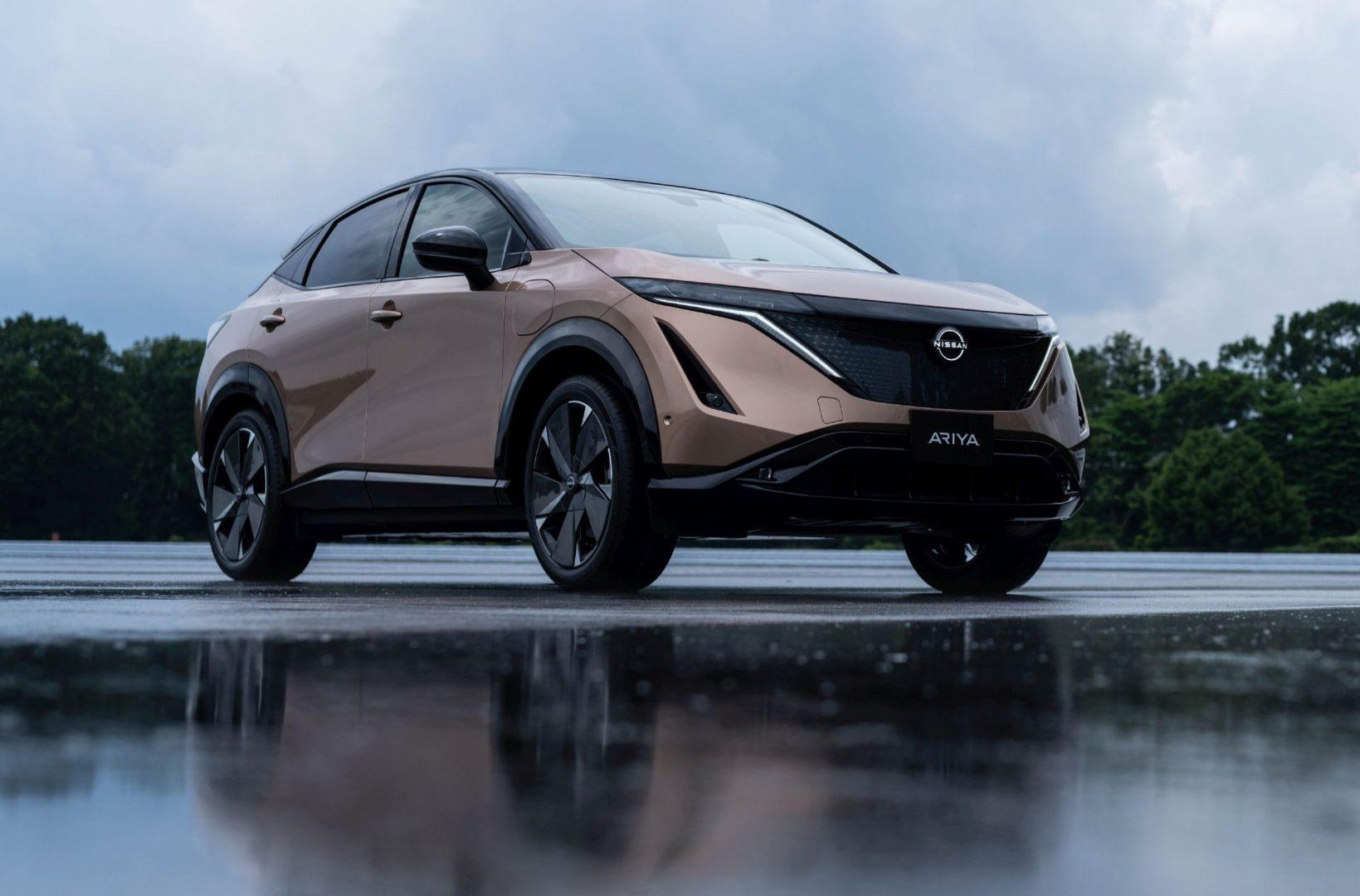 Novu eru Nissan električnih vozila predstavlja novi električni coupe SUV Ariya