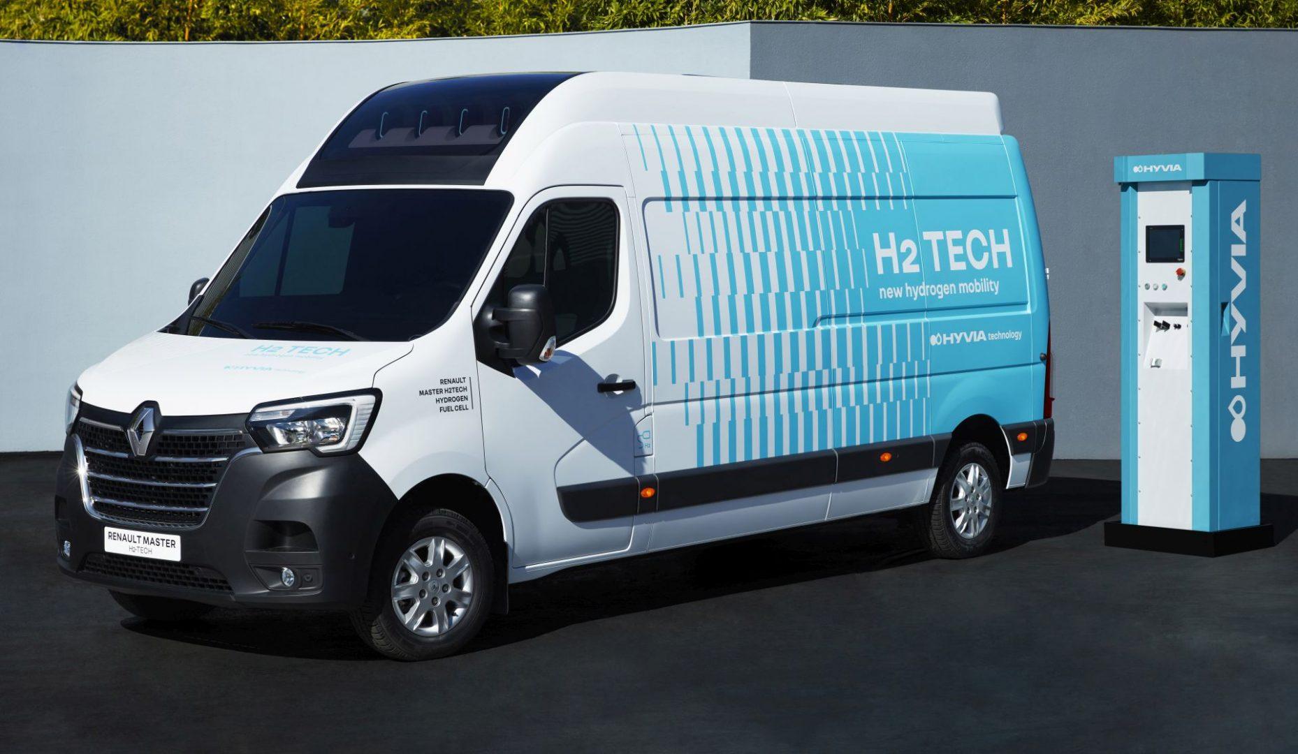 HYVIA predstavlja prototip Renault Mastera Van H2-TECH i stanicu za opskrbu vodikom