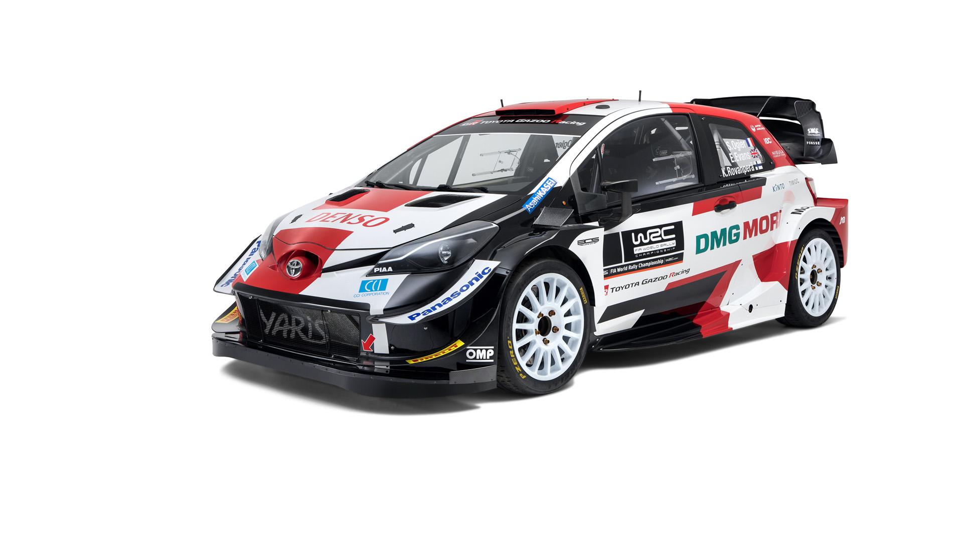 Predstavljena je dorađena Toyota Yaris WRC za sezonu 2021.