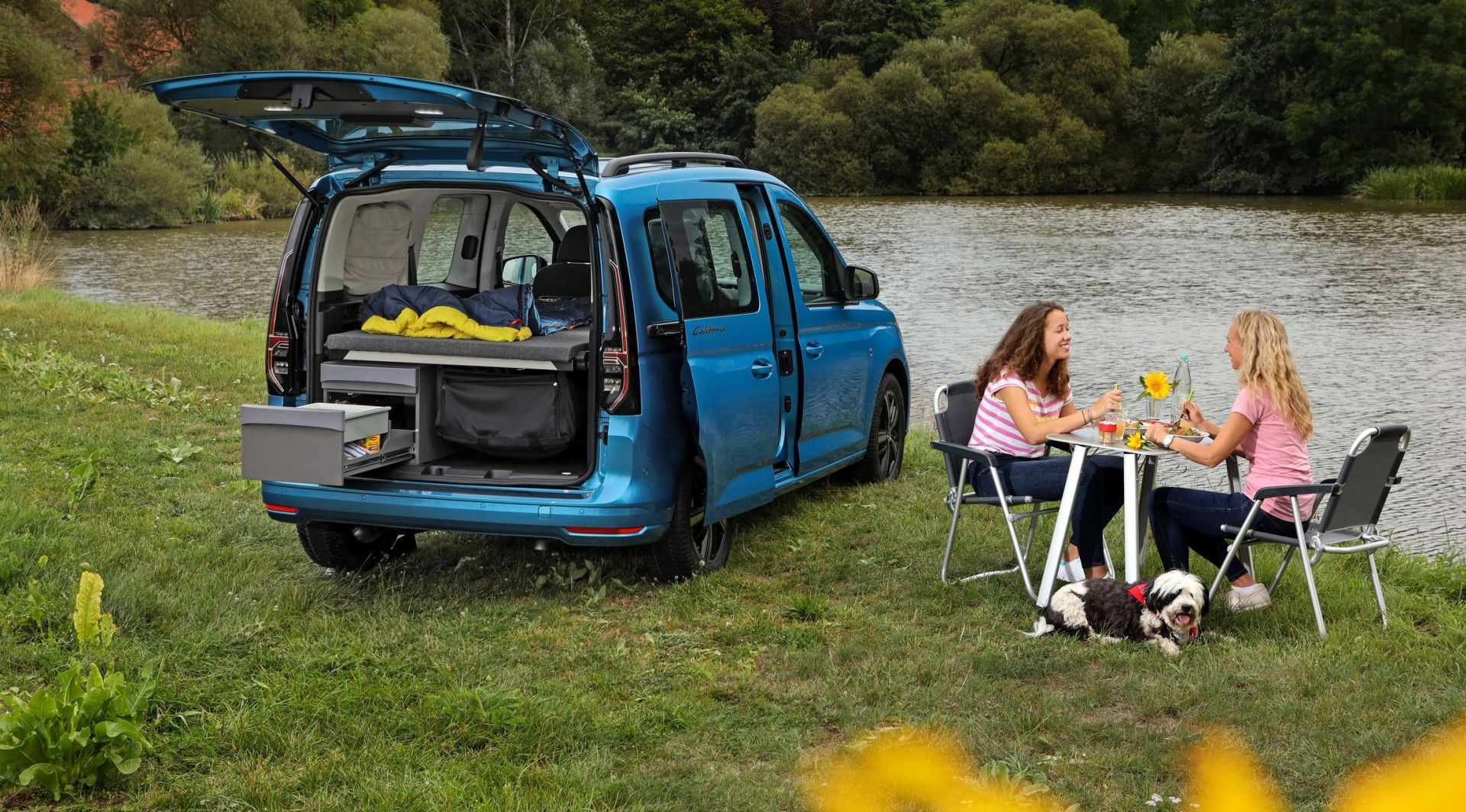 Kamper u kompaktnim dimenzijama: Volkswagen Caddy California