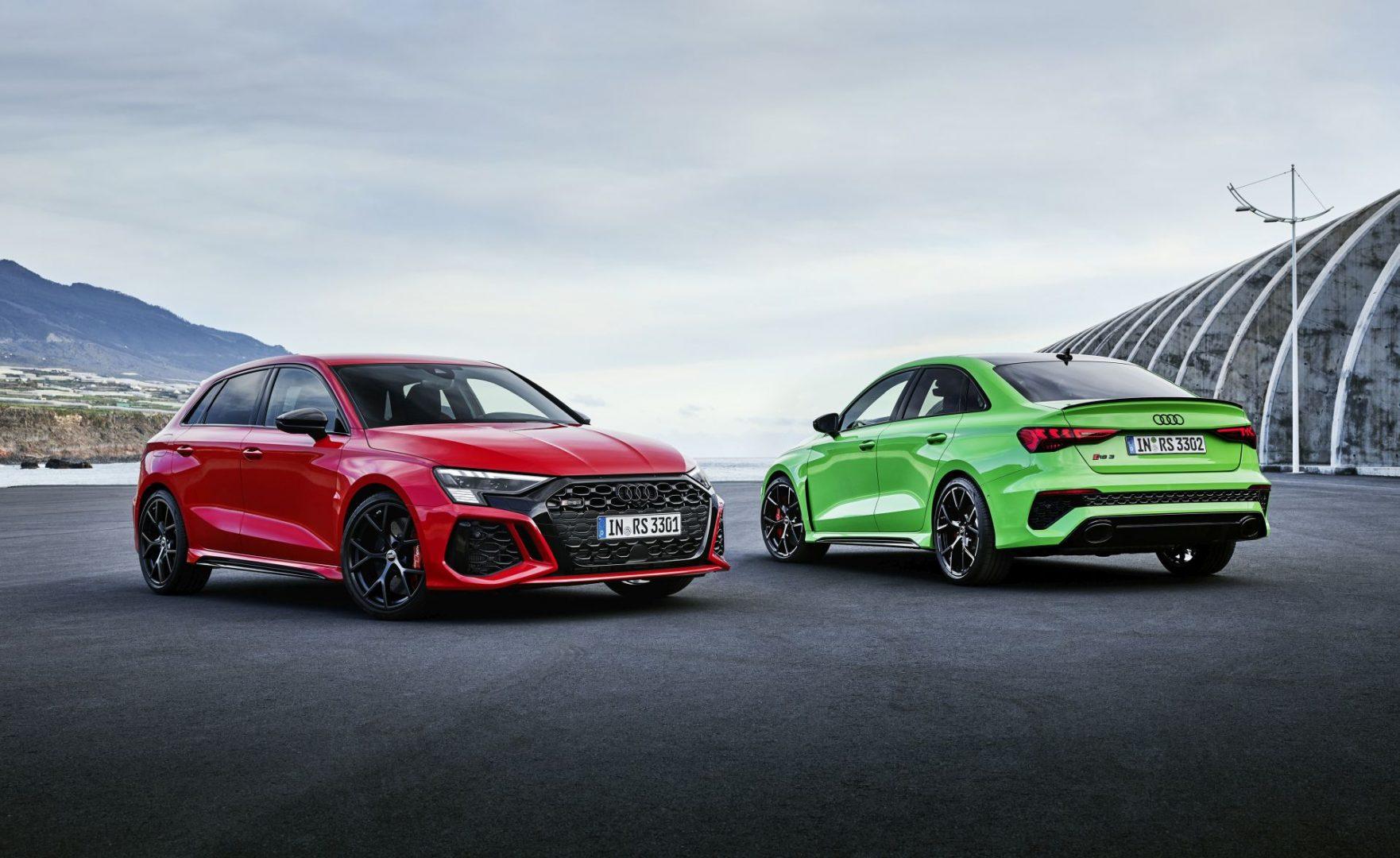 Papreni kompakti iz Audija: novi RS3 Sportback i RS3 Sedan