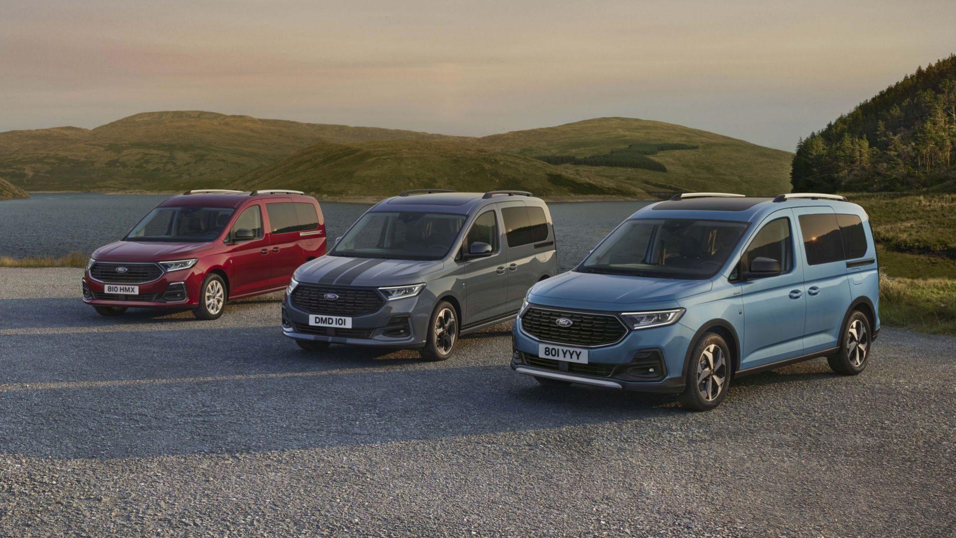 Ovo je potpuno nova generacija za Ford Tourneo Connect