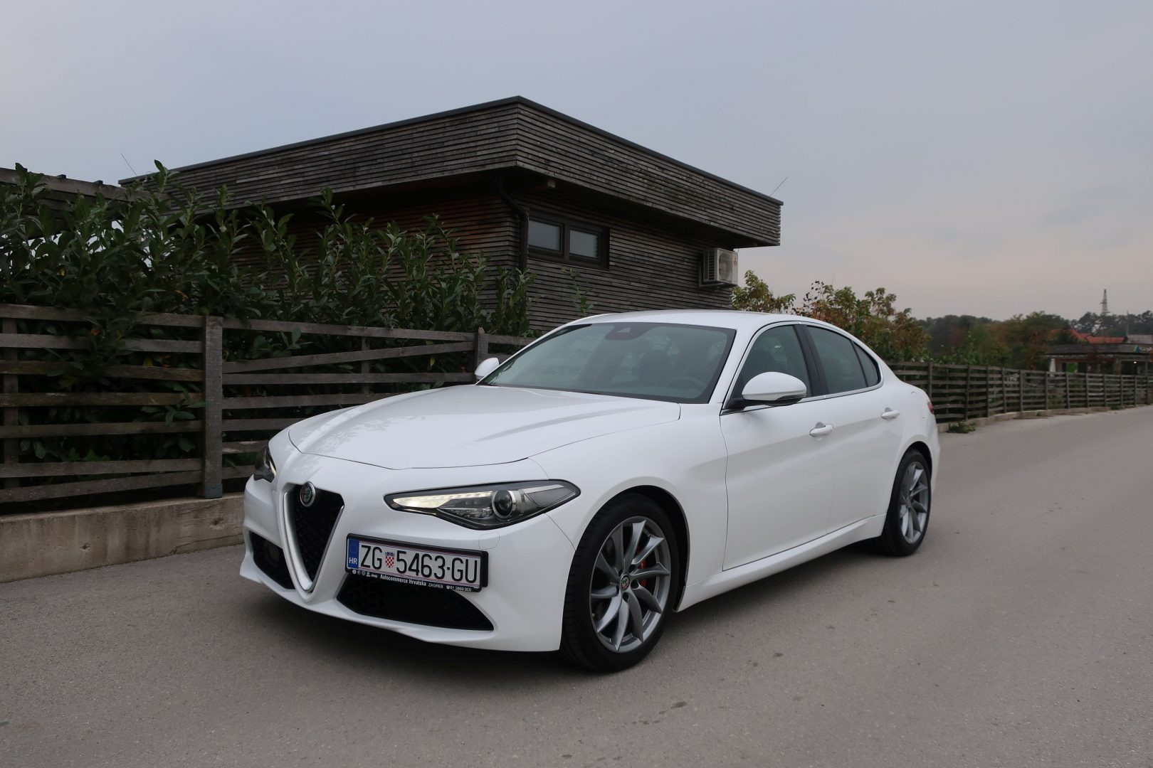 TEST Alfa Romeo Giulia 2.2 MultiJet 150 AT Super