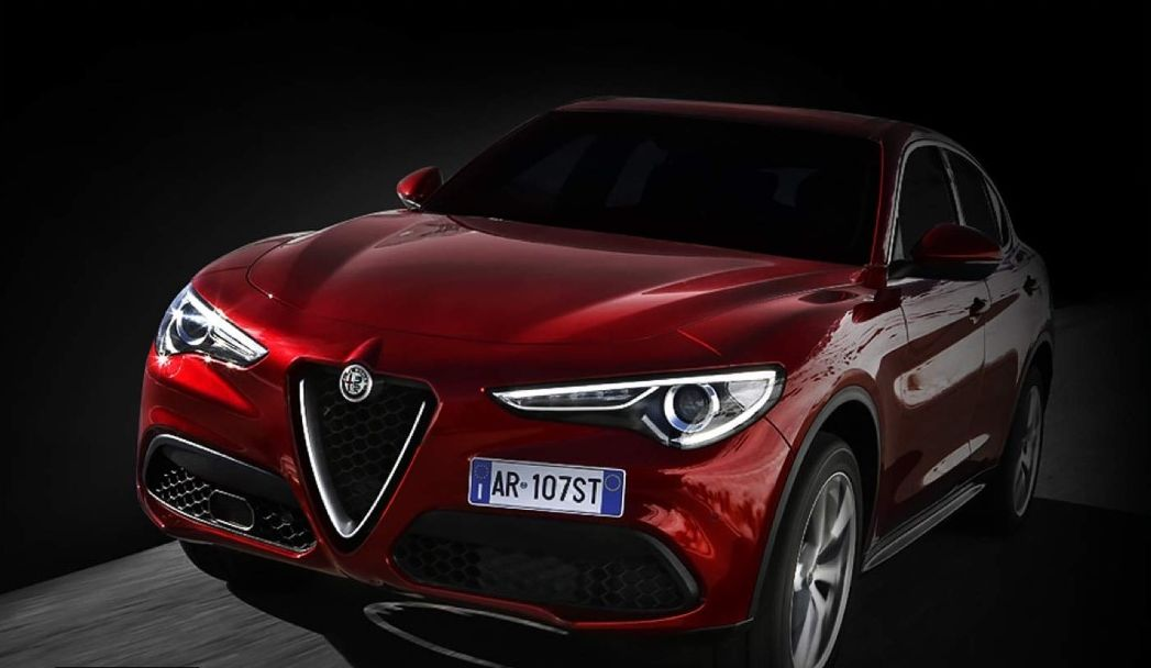 Alfa Romeo Stelvio test vožnja preko Amazona