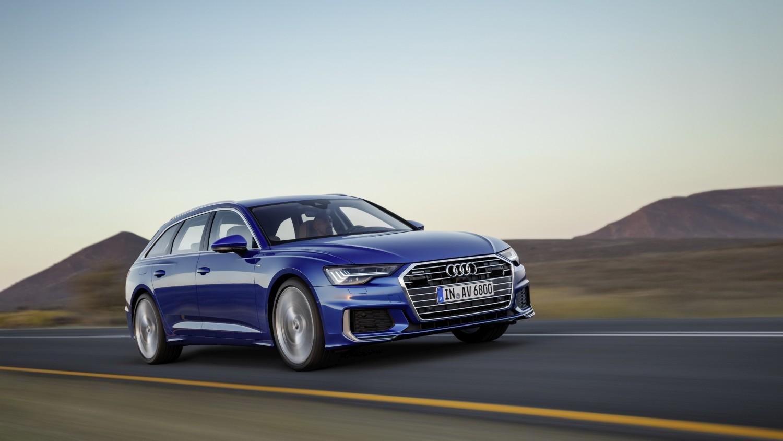 Novi Audi A6 Avant sa zakretanjem sva četiri kotača u vožnji
