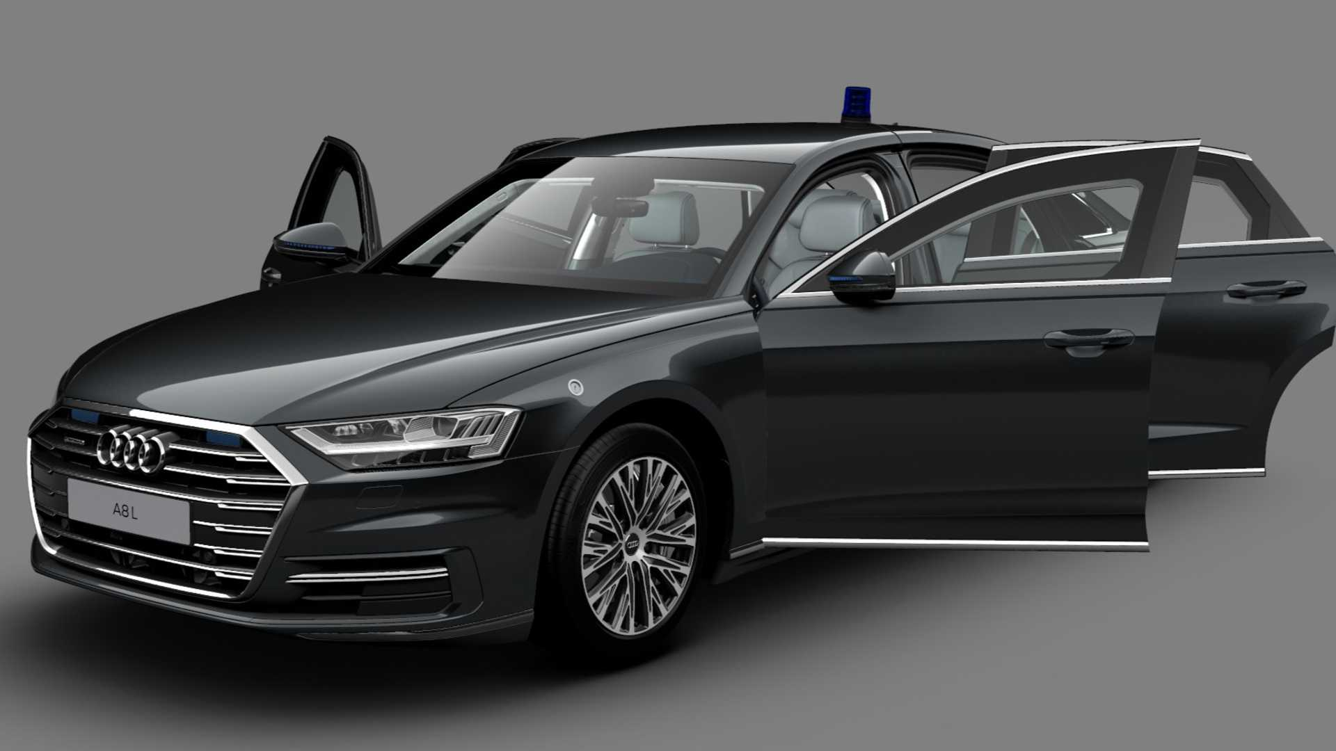Audi A8 L Security vas štiti od požara, bombe, ali i metaka od snajpera i automatske puške
