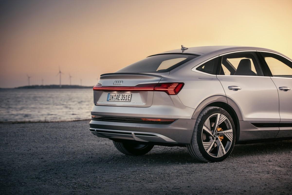 Sportaš Audi e-tron Sportback prelazi 446 km na struju