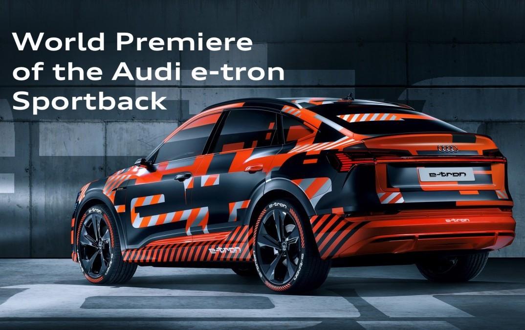 Svjetska premijera: Audi e-tron Sportback