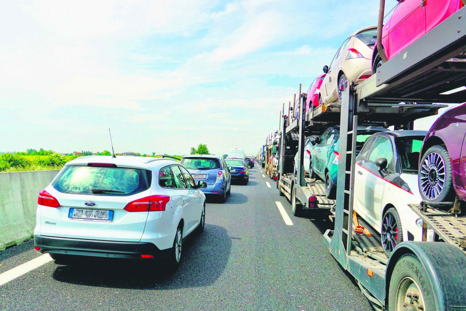 Postupak pri zastojima na autocesti