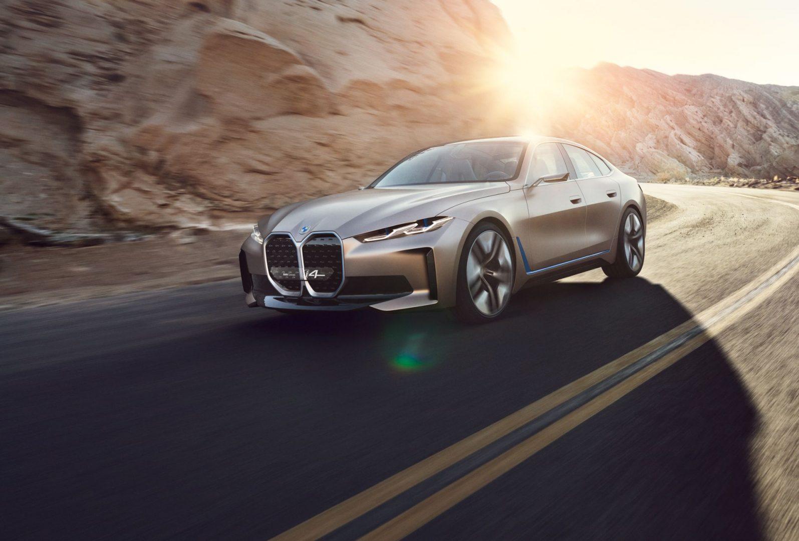Koncept i4 najavljuje budućnost BMW-a i prikazuje redizajnirani logo marke