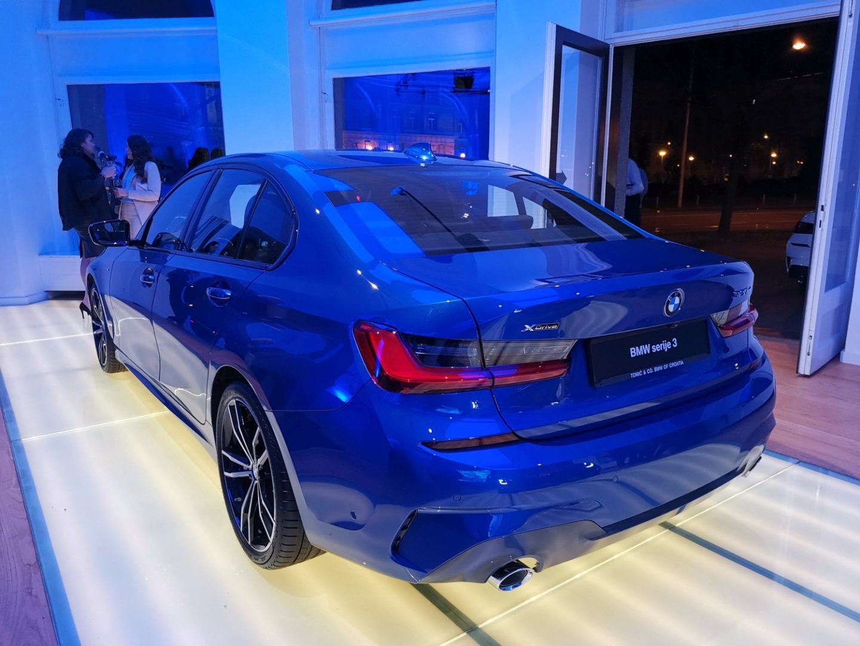 U Zagrebu je predstavljen novi BMW serije 3, uz jednog posebnog gosta