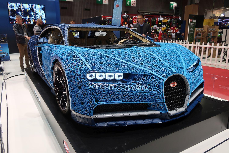 Bugatti Chiron od milijun Lego kockica