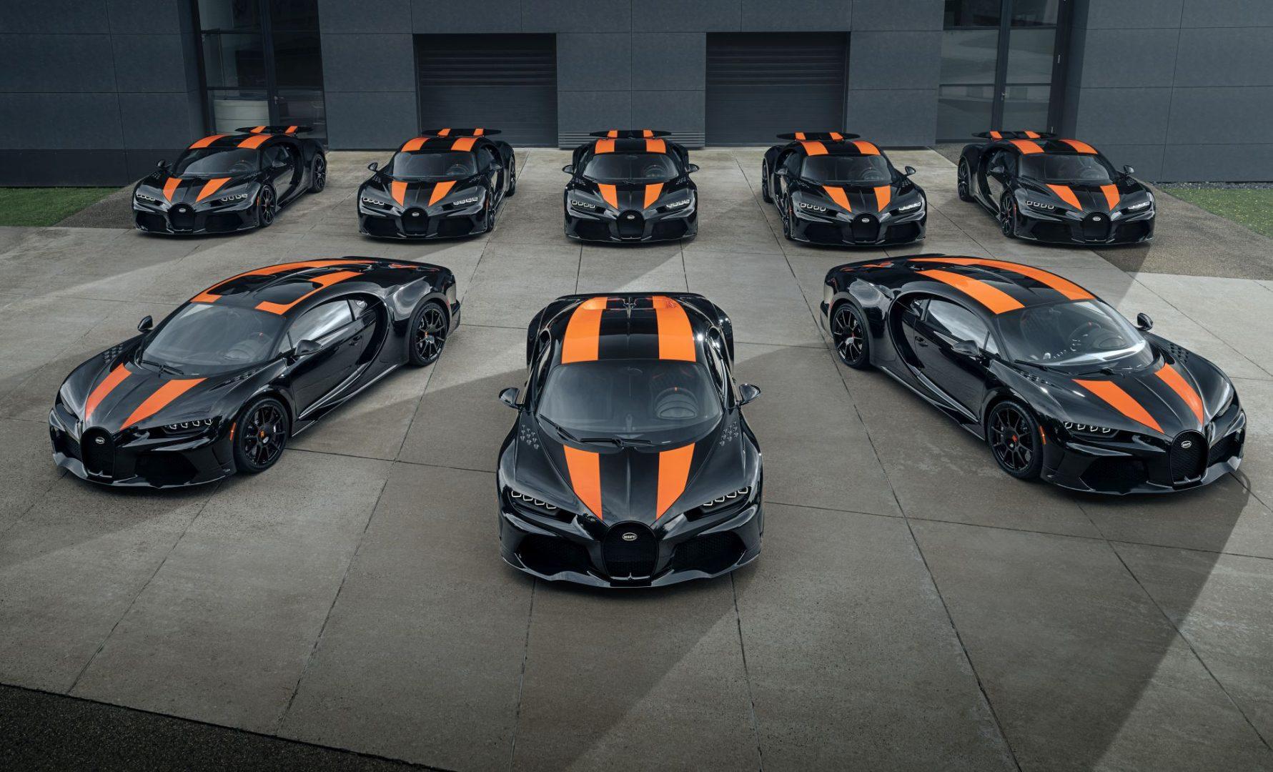 Prvih osam Bugattija Chiron Super Sport 300+ spremno za isporuku vlasnicima