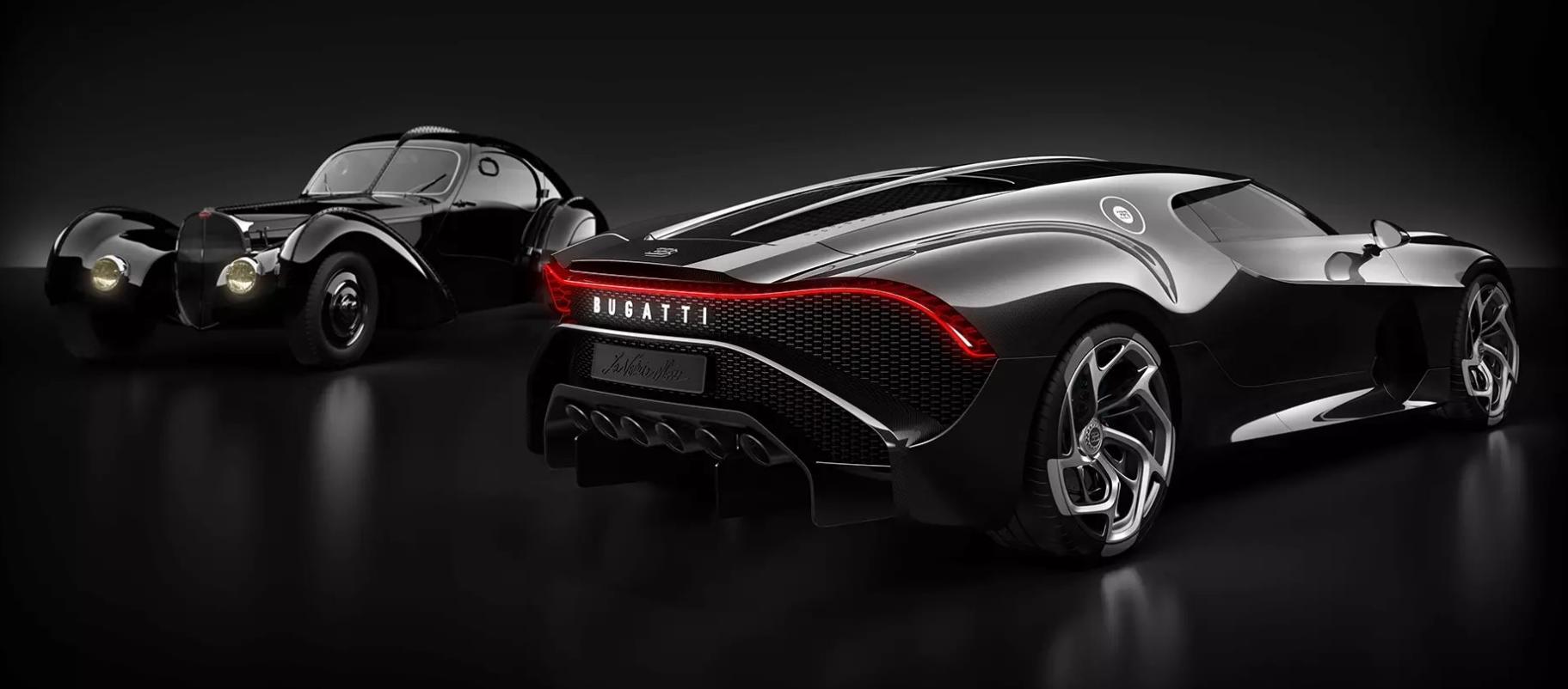 Bugatti La Voiture Noire je najskuplji automobil na svijetu