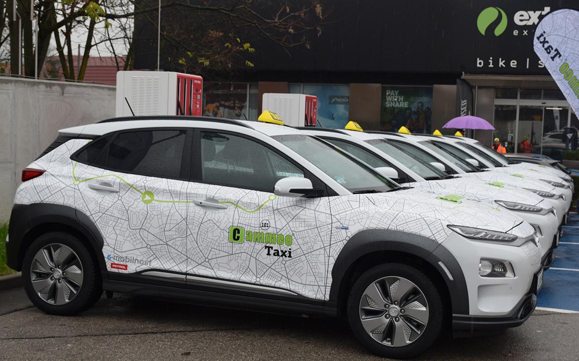 Cammeo u flotu taksi vozila uvodi električne automobile