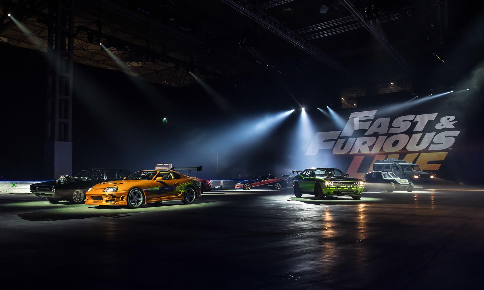 Mitsubishijeva vozila u Fast & Furious Live show prkose fizici
