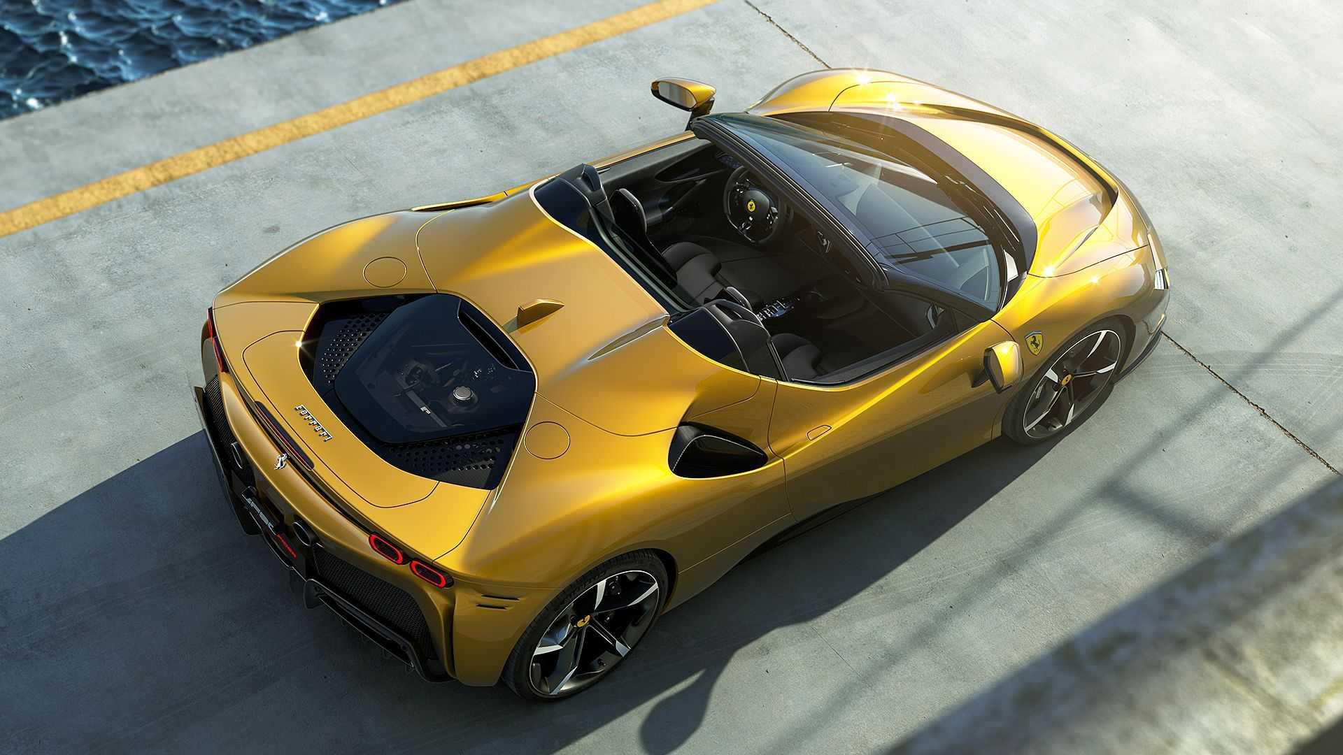 Predstavljen je hibridni Ferrari SF90 Stradale Spider