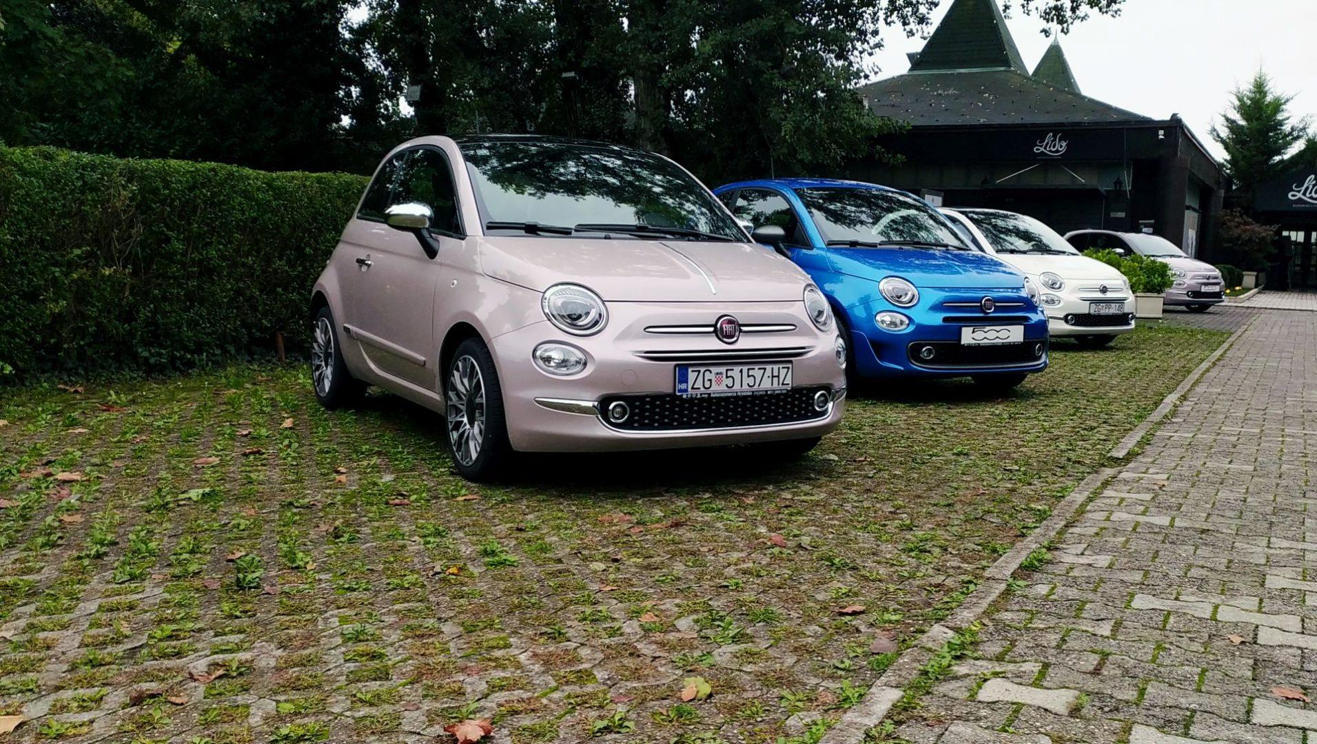 Domaćim novinarima predstavljen novi Fiat 500 Hybrid