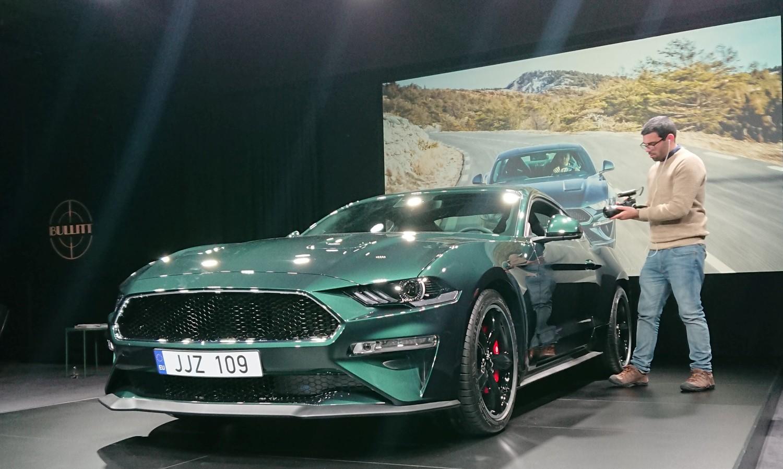 Sin i unuci Stevea McQueena predstavili Ford Mustang Bullitt