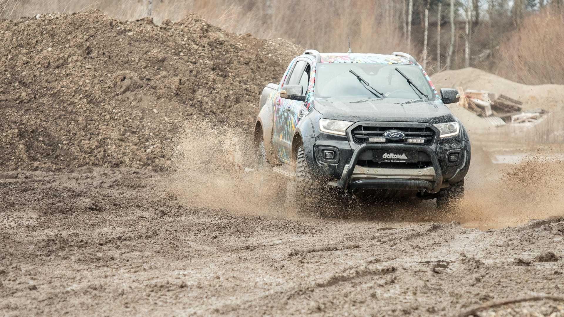 Ford Ranger u obradi njemačke tvrtke Delta 4×4 postaje još atraktivniji, ali i veći