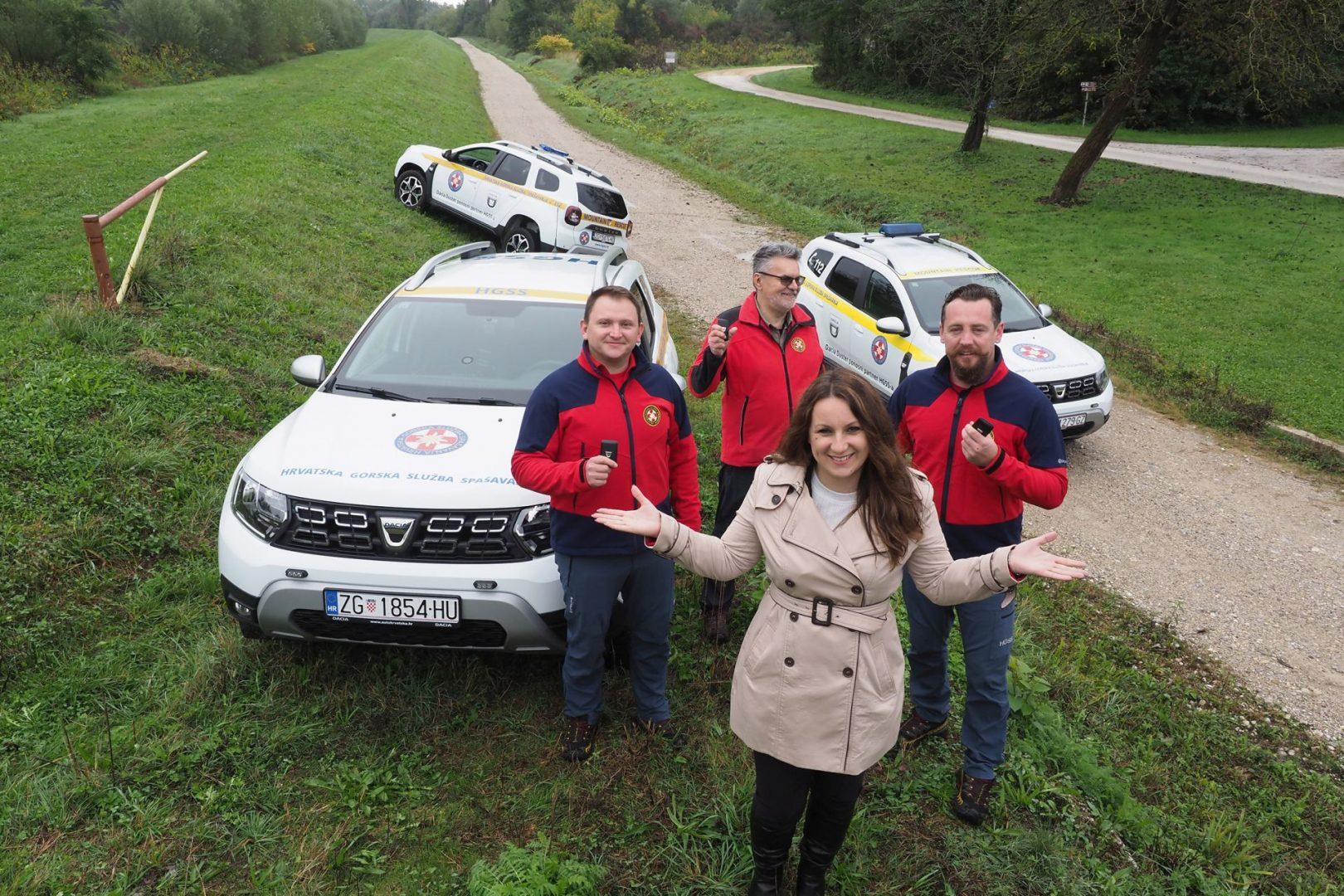 Dacia Duster je i dalje pouzdani partner HGSS-a