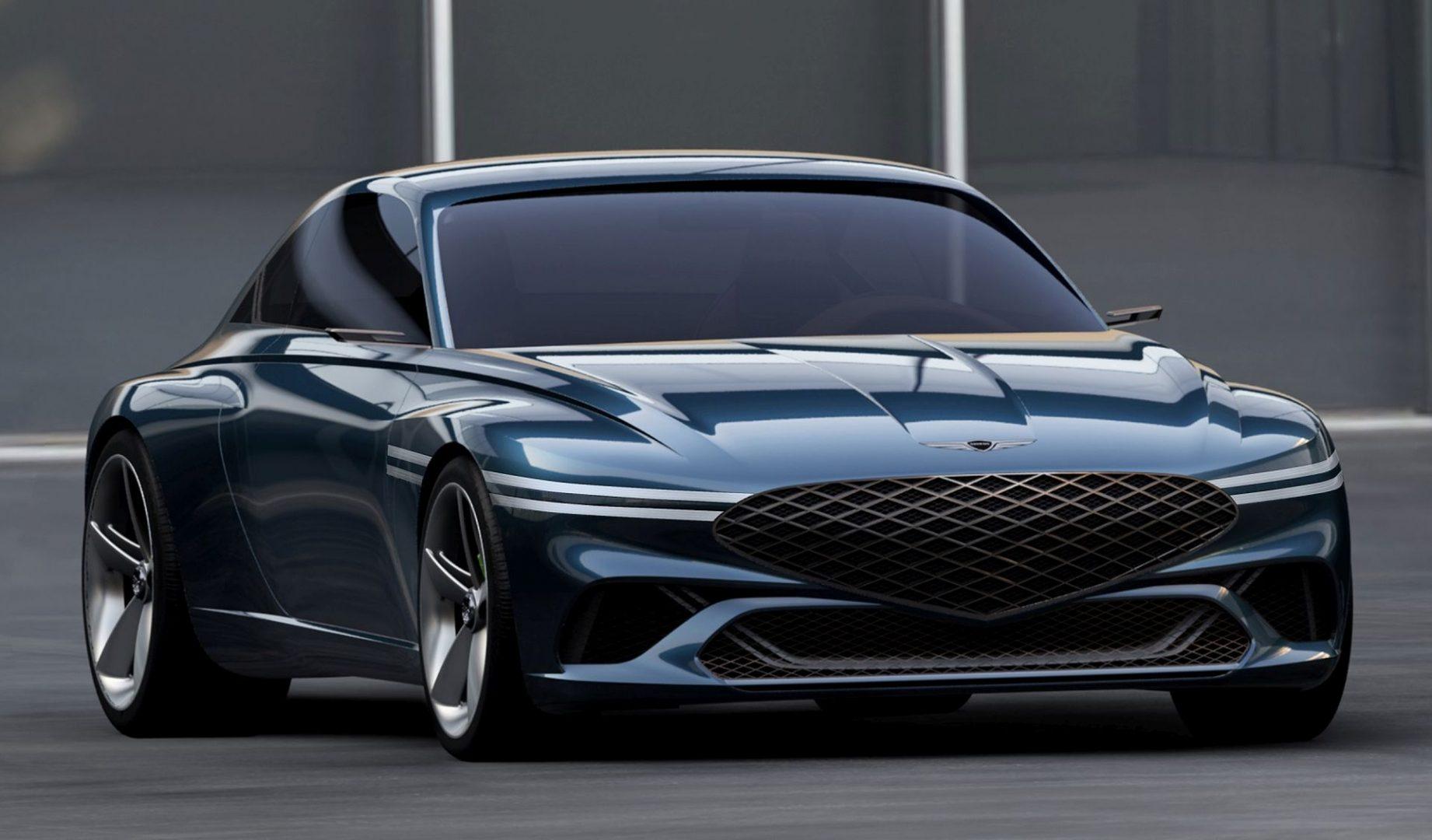 Genesis X Concept je zanimljivo dizajnirani električni GT coupe budućnosti