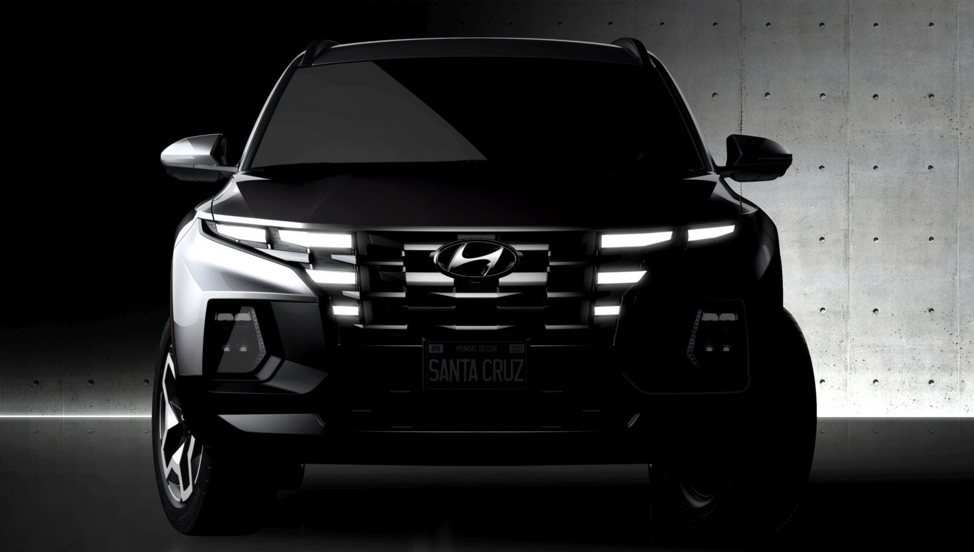 Posljednji teaser prije premijere: ovo je novi pick-up Hyundai Santa Cruz