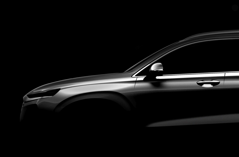 Prva fotografija: novi Hyundai Santa Fe