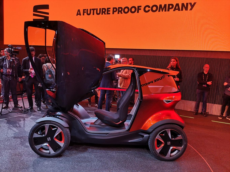 Novost iz Barcelone: Seat predstavio električni Minimo koncept s dosegom do 100 km