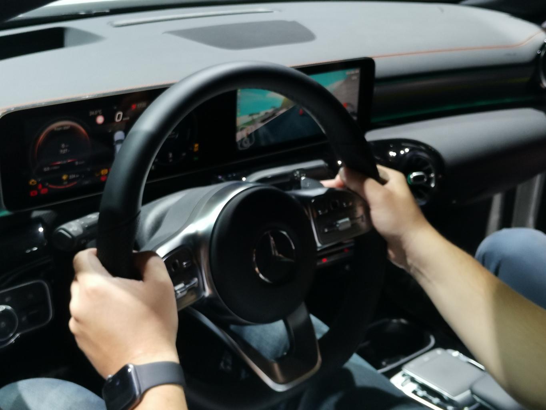 U Barceloni smo isprobali igranje igre u novom Mercedesu CLA Coupe