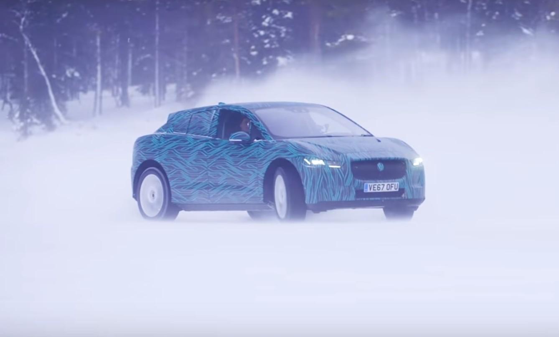 Pogledajte zabavu s Jaguarom I-Pace po snijegu