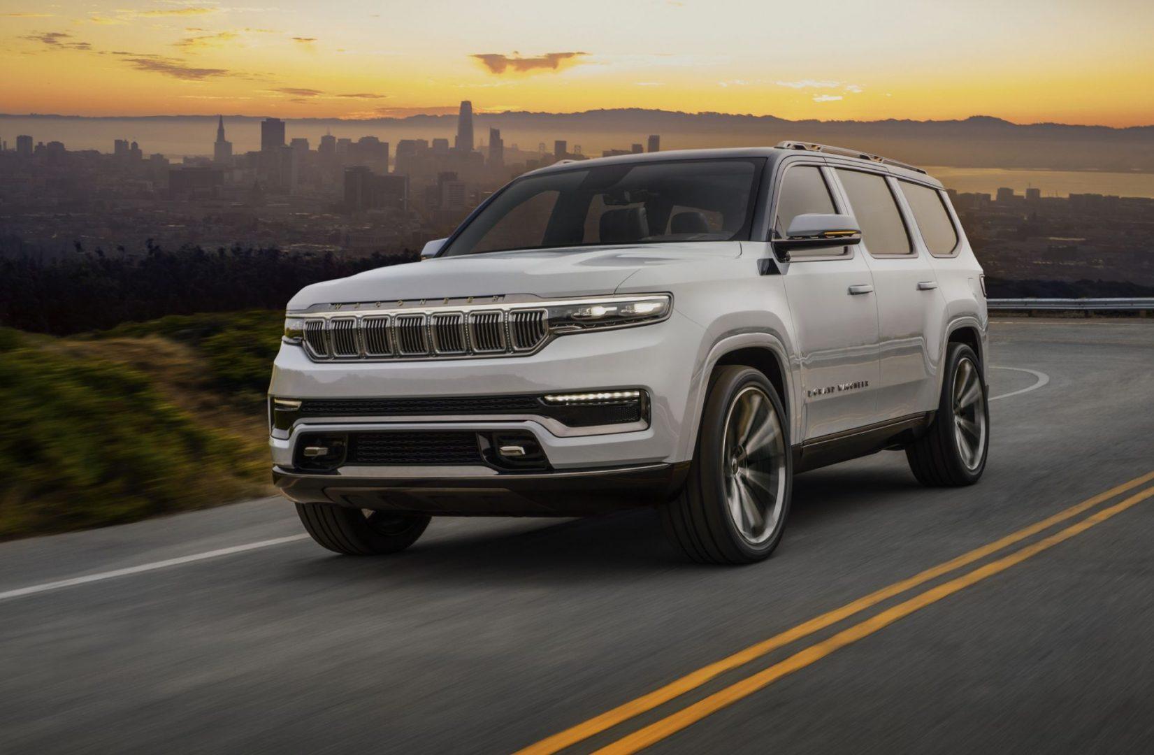 Jeep je predstavio Grand Wagoneer Concept, a već sljedeće godine dolazi i njegova serijska izvedba