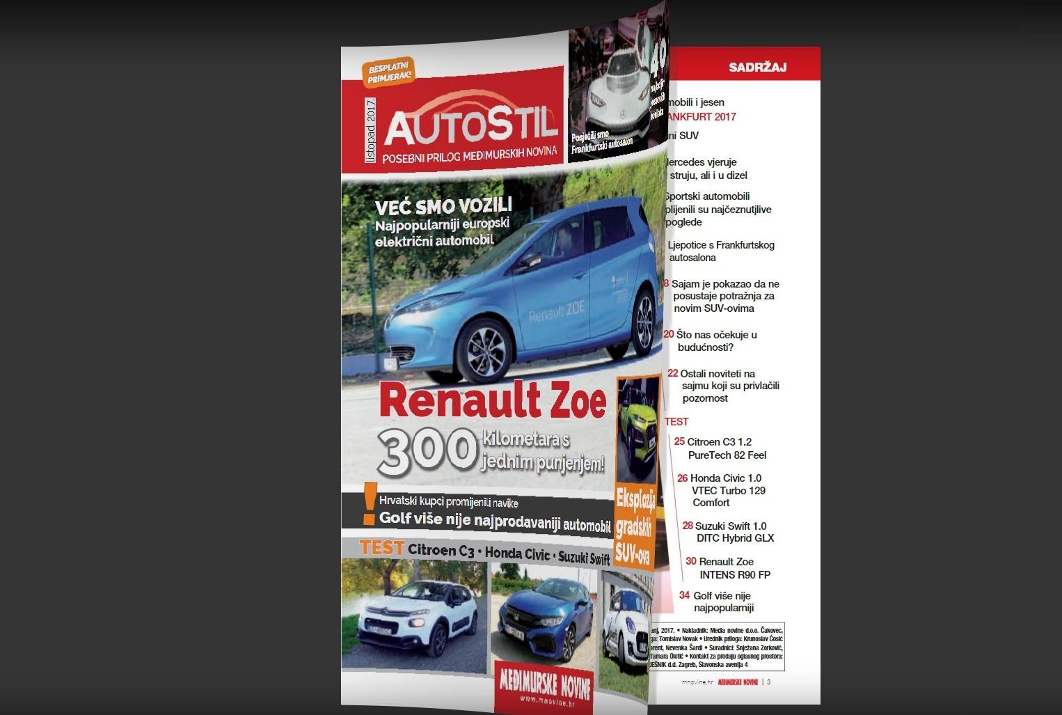AUTO STIL Veliki izvještaj s auto salona Frankfurt, testovi automobila…
