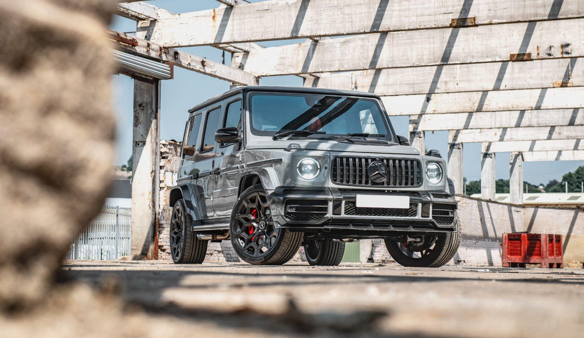 Jedna sasvim posebna G-klasa: Kahn Mercedes G Carbon Wide Track Edition