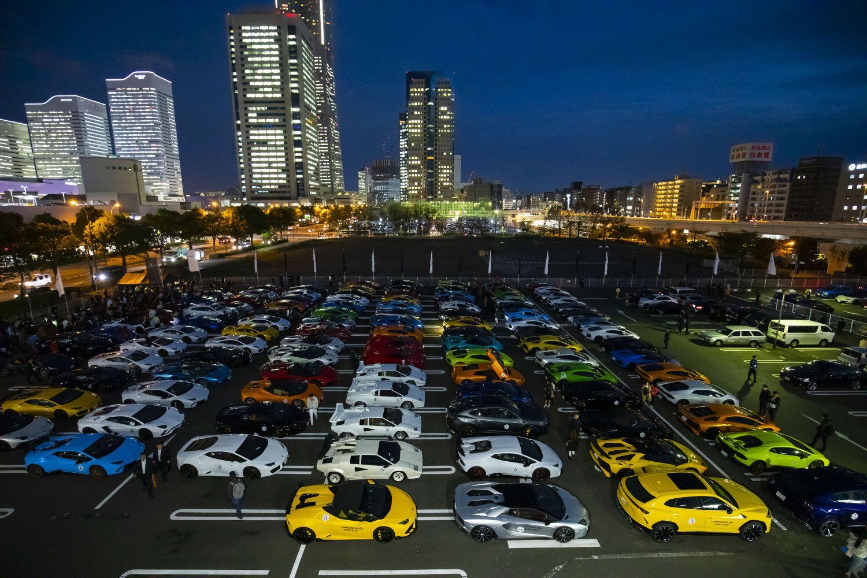 Predivno za vidjeti: 200 Lamborghinija na jednom mjestu