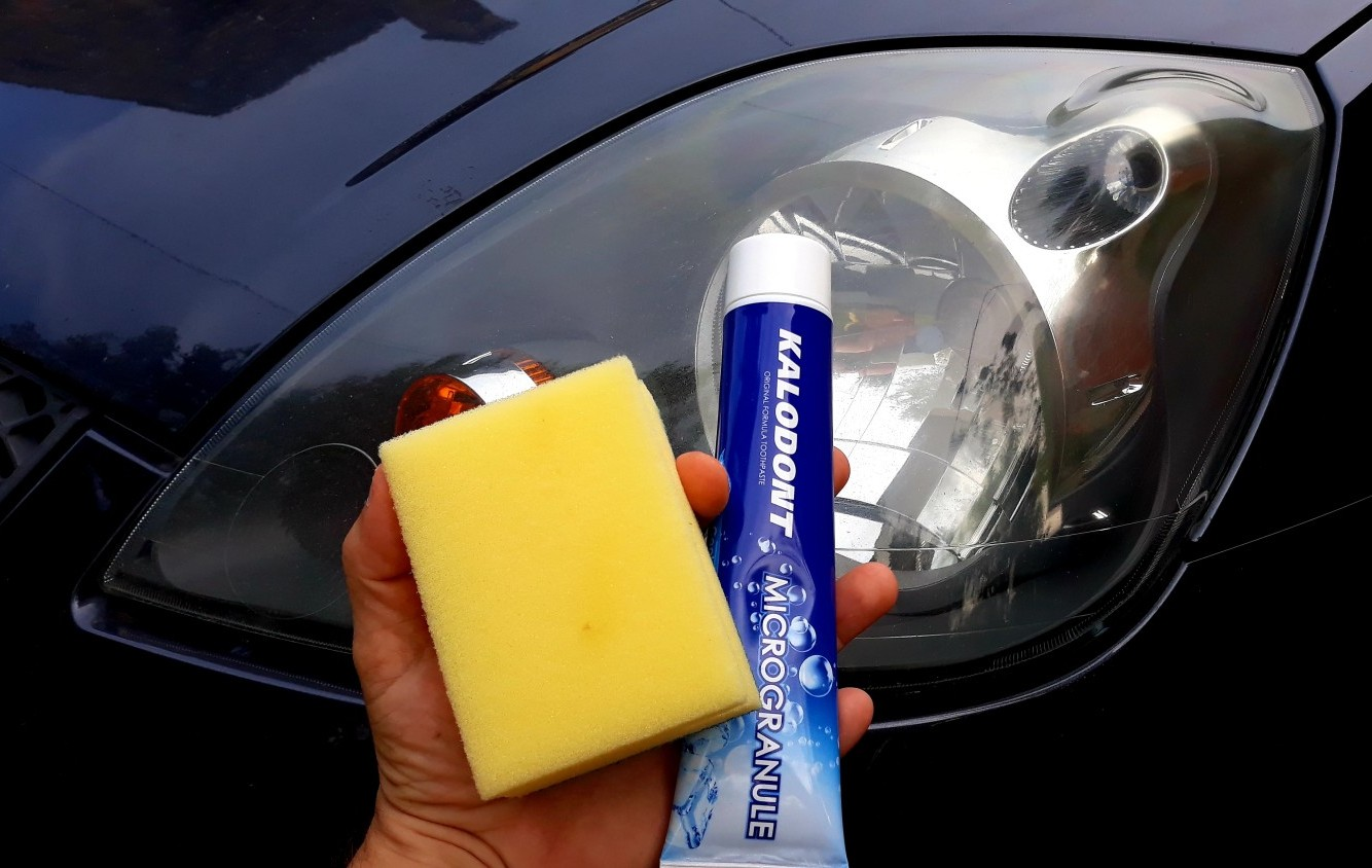 Poliranje farova s pastom za zube? Da, moguće je