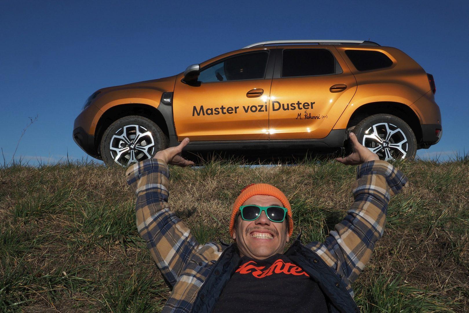 Mario Petreković vozi novog Dustera