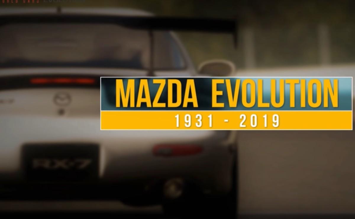 Mazda kroz povijest, od 1931. do 2019.