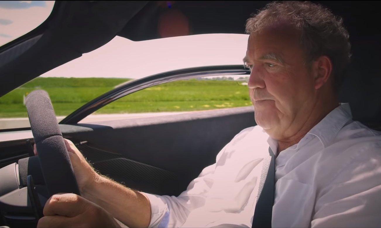Jeremy Clarkson vozi super-lagani McLaren Senna
