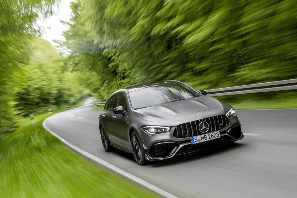 Mercedes-AMG CLA 45 u Shooting Brake izvedbi stotku lovi za samo 4 sekunde